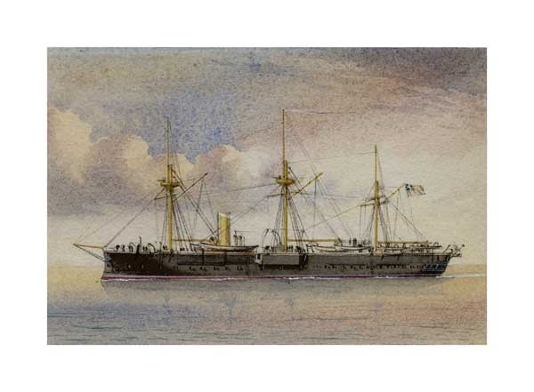 Victorian Warship 01 - McKENZIE, W Thompson