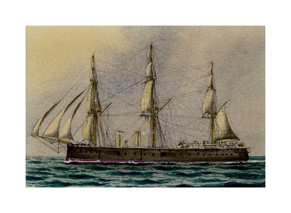 Victorian Warship 02 - McKENZIE, W Thompson