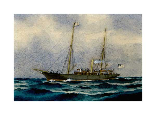 Victorian Warship 03 - McKENZIE, W Thompson
