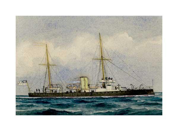 Victorian Warship 06 - McKENZIE, W Thompson
