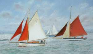 Yarmouth's Gaffers Race - MICHAELIS, Jane