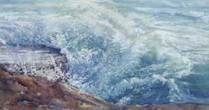 High Tide, Portland Bill - MILLER, Rosemary