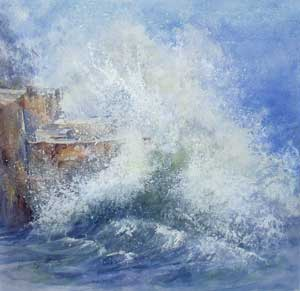 Spray, Portland Bill - MILLER, Rosemary