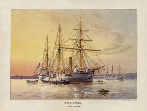 HMS Bramble - MITCHELL, W.F.