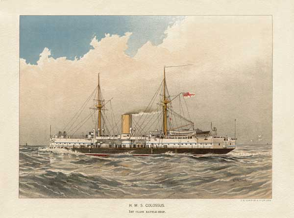 HMS Colossus - MITCHELL, W.F.