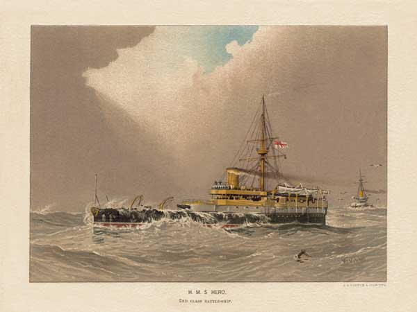 HMS Hero - MITCHELL, W.F.