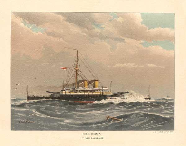 HMS Rodney - MITCHELL, W.F.