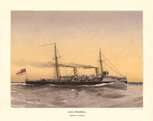 HMS Speedwell - MITCHELL, W.F.