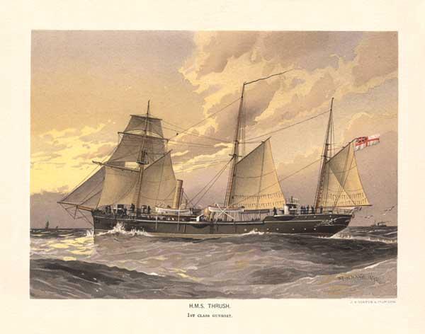 HMS Thrush - MITCHELL, W.F.