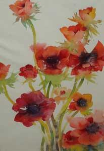 Red Anemones - OSBORNE, Kate