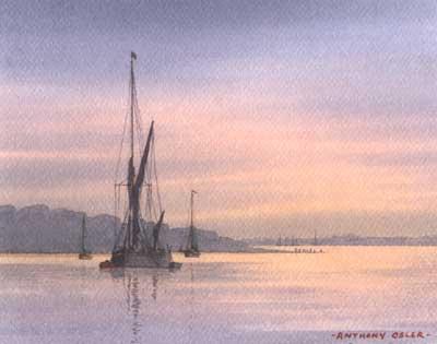 East Coast Sunset - OSLER, Anthony