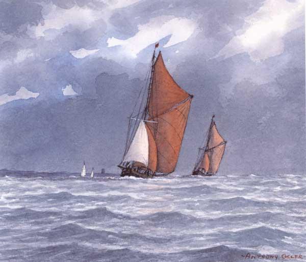 Glorious Sailing Weather - OSLER, Anthony