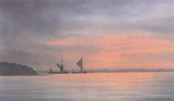 Sunset & Barges - OSLER, Anthony