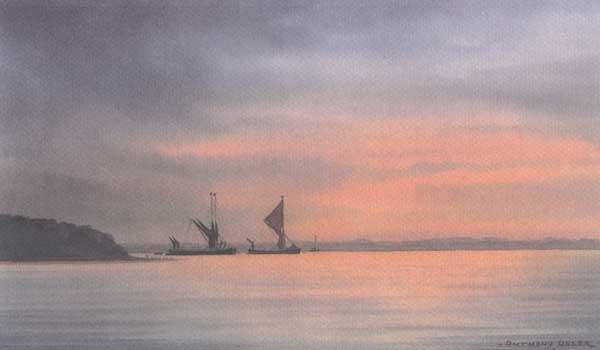 Sunset & Barges - OSLER, Anthony