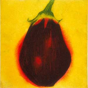 Fat Aubergine - PERRING, Susie