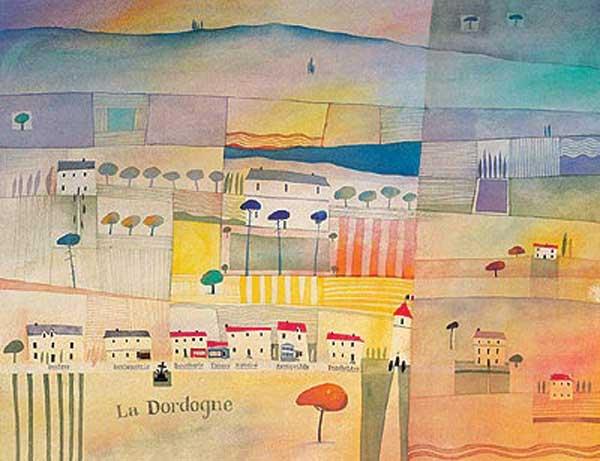 La Dordogne - PHILLIPS, Frank