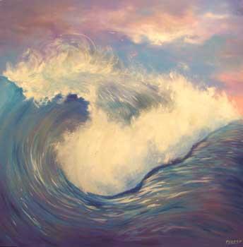 Blue Surf - PIERCY, Martin