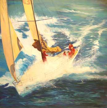Racing Yacht - PIERCY, Martin