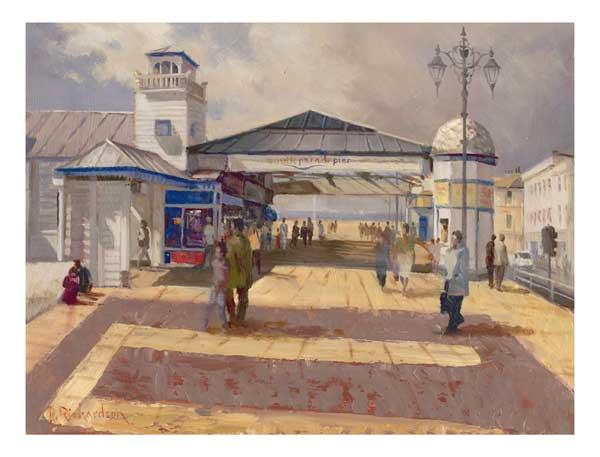 The Pier, Southsea - PRINT - RICHARDSON, Peter