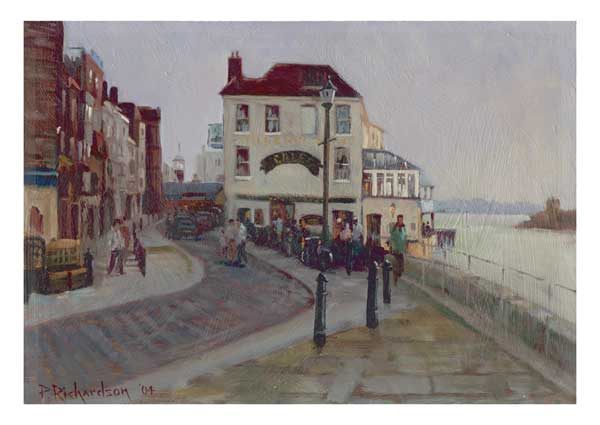 The Still and West Portsmouth - PRINT - RICHARDSON, Peter