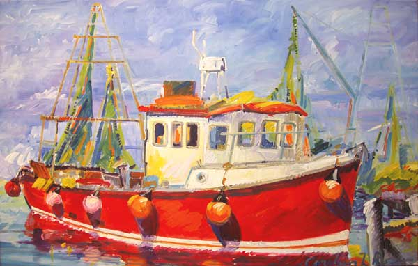 Portsmouth Fishing Boat 2 - ROSS, Carolyn L.