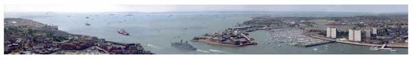 Solent Panorama - ROYAL NAVY