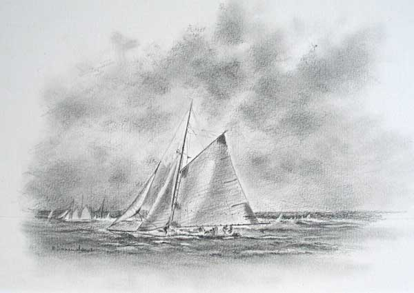 Classic Boat, The America's Cup Centenary - SAMUELSON, Becky