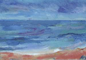 Blue Seafront - SIMPSON, Pam