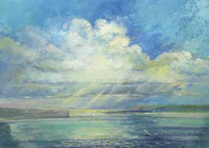 Towards the Isle of Wight - STOKES, Vera