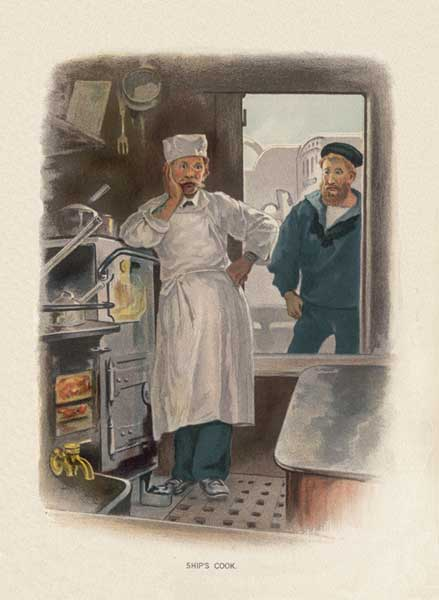 Ship's Cook - SYMONS, W. Christian