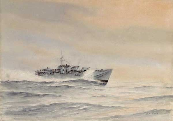 Coastal Forces: Fairmile D Type MTB 604 - TUFNELL, Eric