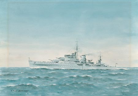HMS Leander in the 1930's - TUFNELL, Eric