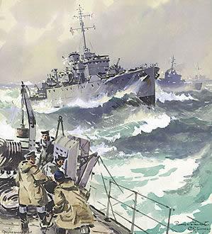 Algerine Class Minesweepers - TURNER, Charles Eddows