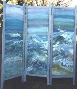 3 Panel Silk Screen - VENABLES, Jane