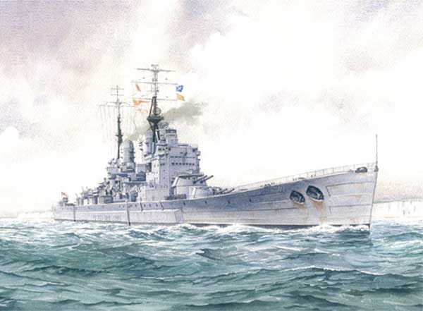 HMS Vanguard, the Last British Battleship - CARD - WIGSTON, John