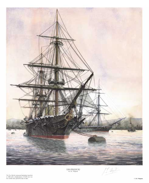 HMS Warrior - WIGSTON, John