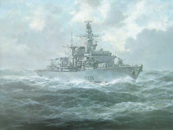 HMS Montrose - WILLIS, Richard