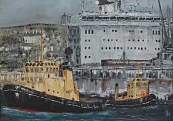 Faithful and RFA Oakleaf - ORIGINAL - WONNACOTT, Roger