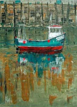 Low Tide at Looe - WONNACOTT, Roger