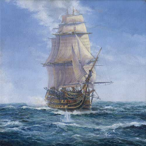 HMS Victory Hms_victory_in_battle