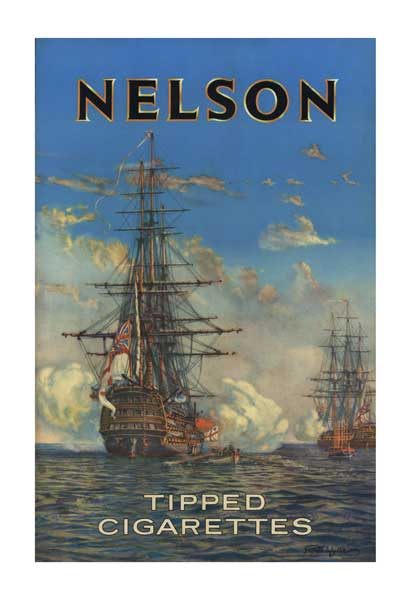 Nelsons Cigarettes - POSTER - WYLLIE, Harold