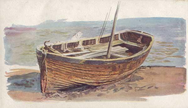 A Gally Punt - WYLLIE, William Lionel