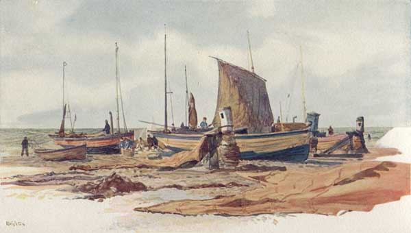 Brighton Boats - WYLLIE, William Lionel