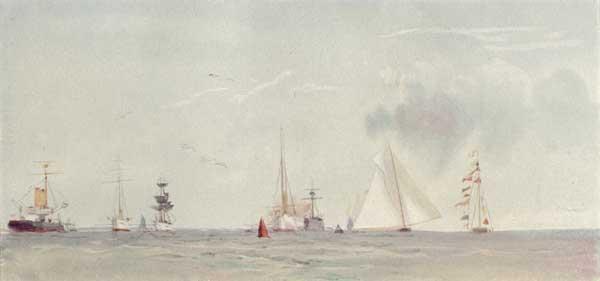 Cowes Roads - WYLLIE, William Lionel